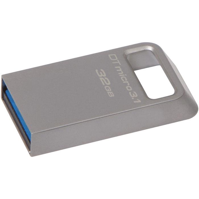 Kingston DataTraveler Micro 3.1 32GB USB-накопительDTMC3/32GBKingston DataTraveler Micro 3.1 - это сверхкомпактный и легкий USB-накопитель без колпачка, поддерживающий высокую скорость интерфейса USB 3.1 (до 100 МБ/с для чтения и до 15 МБ/с для записи). Он имеет настолько компактные размеры, что его можно оставить подключенным к ноутбуку, даже когда вы его не используете. Кроме того, накопитель имеет прочное кольцо для брелоков. С помощью этого устройства с автоматической настройкой конфигурации вы сможете хранить до 32 ГБ музыки, фильмов, файлов и других данных. Он идеально подходит для использования с планшетами, ноутбуками, автомобильными стереосистемами и телевизорами. Накопитель может работать в температурном диапазоне от 0°C до 60°C, а храниться при температуре от -20°C до 85°C. Поддержка ОС: Windows 8.1, Windows 8, Windows 7, Windows Vista, Linux, ChromeOS, Mac OS X 10.7 и выше