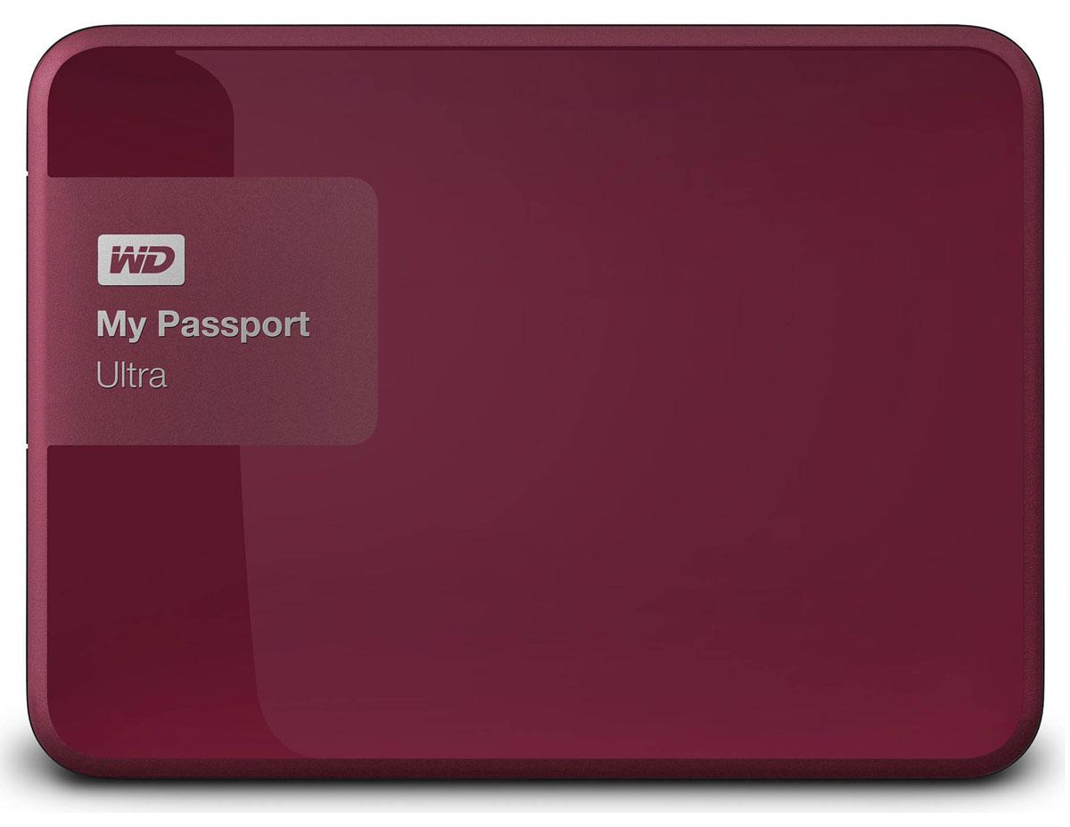 WD My Passport Ultra 2TB, Berry внешний жесткий диск (WDBNFV0020BBY-EEUE)WDBNFV0020BBY-EEUEНесмотря на свои компактные размеры, накопитель My Passport Ultra является стильным, мощным и защищенным устройством. Под цветным корпусом скрыты надежность и результат семи поколений инноваций. My Passport Ultra предлагается в четырех цветовых решениях, доступна емкость 500 ГБ, 1 ТБ, 2 ТБ и 3 ТБ. Накопитель обладает гибкими параметрами резервного копирования, аппаратным шифрованием с 256-разрядным ключом и ограниченной гарантией в три года. WD Backup: автоматическое и масштабируемое резервное копирование Создайте собственную стратегию автоматического резервного копирования, отвечающую вашему графику и стилю работы. Создавайте резервные копии всех файлов системы или только отдельных папок и файлов. Управление в ваших руках. WD Security: секретный уровень защиты Вы ведь защищаете данные на телефоне с помощью пароля? Почему бы не использовать такую же защиту в накопителе My Passport? Выберите пароль для защиты с помощью мощного...
