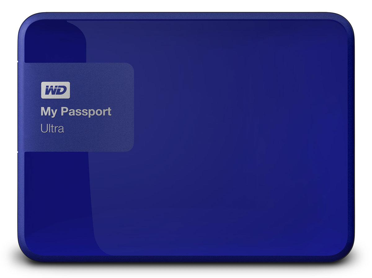 WD My Passport Ultra Original 500GB, Blue внешний жесткий диск (WDBBRL5000ABL-EEUE)WDBBRL5000ABL-EEUEНесмотря на свои компактные размеры, накопитель My Passport Ultra является стильным, мощным и защищенным устройством. Под цветным корпусом скрыты надежность и результат семи поколений инноваций. My Passport Ultra предлагается в четырех цветовых решениях, доступна емкость 500 ГБ, 1 ТБ, 2 ТБ и 3 ТБ. Накопитель обладает гибкими параметрами резервного копирования, аппаратным шифрованием с 256-разрядным ключом и ограниченной гарантией в три года. WD Backup: автоматическое и масштабируемое резервное копирование Создайте собственную стратегию автоматического резервного копирования, отвечающую вашему графику и стилю работы. Создавайте резервные копии всех файлов системы или только отдельных папок и файлов. Управление в ваших руках. WD Security: секретный уровень защиты Вы ведь защищаете данные на телефоне с помощью пароля? Почему бы не использовать такую же защиту в накопителе My Passport? Выберите пароль для защиты с помощью мощного...