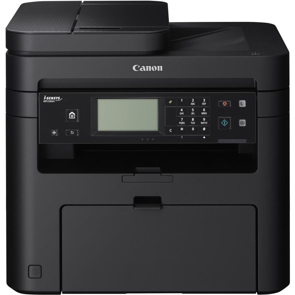 Canon i-Sensys MF226dn МФУ9540B087Canon i-SENSYS MF226dn Увеличивающее производительность черно-белое лазерное многофункциональное устройство с сетевыми функциями