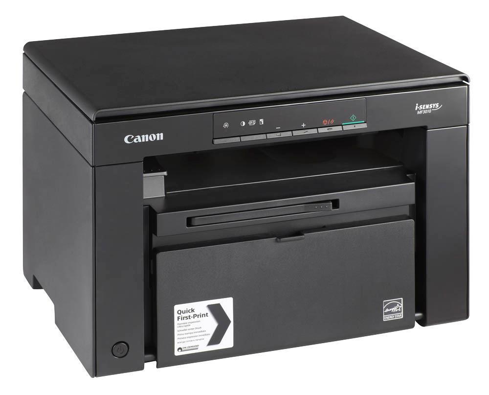 Canon i-Sensys MF30101368C007Canon i-SENSYS MF3010 Стильное, настольное решение для персонального использования. Быстрая печать, копирование и сканирование для вашего удобства, на компактном монохромном лазерном принтере прямо с компьютера. Он идеально подходит для дома и малых офисов и отличается высокой производительностью, простотой использования и энергоэффективностью.