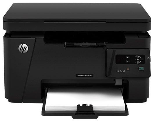 HP LaserJet Pro M125ra (CZ177A) МФУCZ177A#ACBДоступный многофункциональный принтер HP LaserJet Pro отличается удобством в установке и высоким качеством печати. Печать, копирование и сканирование с помощью одного компактного устройства, которое можно легко разместить в небольшом помещении.