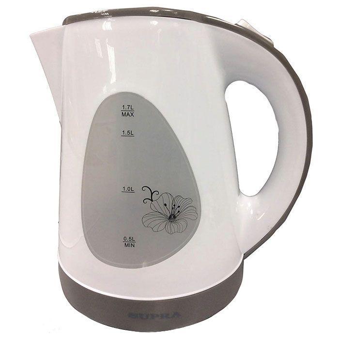 Supra KES-1708, White Grey электрический чайник4895156826743Если у вас большая семья или часто приходят гости, то термопот Supra KES-1708 создан именно для вас. Имея угол вращения 360 градусов, носик электрочайника можно повернуть в удобную для вас сторону. Благодаря ручке, прикрепленной к поверхности корпуса, его легко можно переносить в необходимое место.