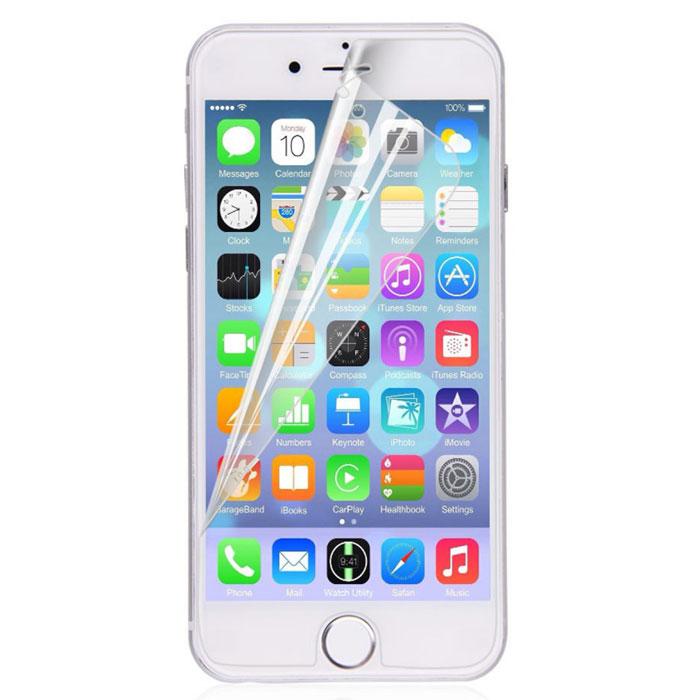 Harper SP-M IPH6P защитная пленка для Apple iPhone 6 Plus, матоваяSP-M IPH6PМатовая защитная пленка Harper SP-M IPH6P для Apple iPhone 6 Plus. Изготовлена из многослойного материала РЕТ. Защищает экран от царапин и влаги, не деформируется со временем и не искажает изображение. В комплект входит все необходимое для установки пленки.