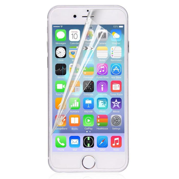 Harper SP-S IPH6P защитная пленка для Apple iPhone 6 Plus, глянцеваяSP-S IPH6PГлянцевая защитная пленка Harper SP-S IPH6P для Apple iPhone 6 Plus. Изготовлена из многослойного материала РЕТ. Защищает экран от царапин и влаги, не деформируется со временем и не искажает изображение. В комплект входит все необходимое для установки пленки.