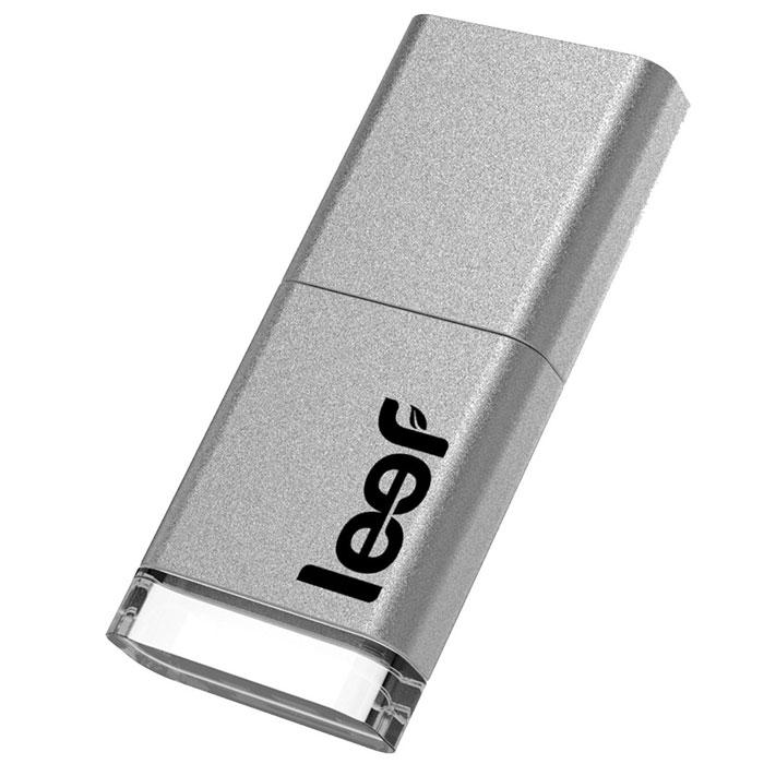 Leef Magnet 3.0 64GB, Silver USB-накопительLFMGN-064SWRНа рынке впервые появился накопитель с магнитным колпачком, который позволяет не потерять его из виду. Просто прикрепите его к холодильнику, дверце машины... всему, что подскажет ваша фантазия. Leef Magnet 3.0 обладает ударопрочными свойствами, а также пыле-и влагостойкая, что позволяет защитить ваши воспоминания от любых испытаний. Системные требования: Windows 8, Windows 7, Windows XP (SP3), Windows Vista (SP1, SP2), Windows 2000, Apple Mac OS X и выше
