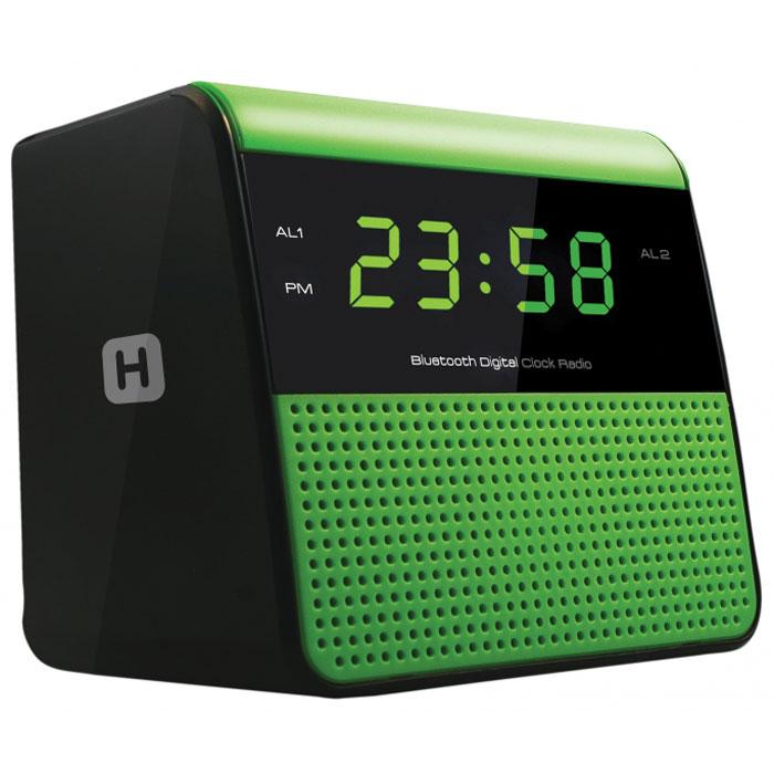 Harper HRCB-7768 радиобудильникHRCB-7768Harper HRCB-7768 представляет собой радиобудильник, который благодаря функции Bluetooth может использоваться как портативная акустика. Основными особенностями модели являются: Подключение радиочасов к Bluetooth-устройствам, с трансляцией аудио сигнала на них Дисплей: LED, 0,6 USB зарядка Версия Bluetooth: 2.1 Тип питания: 1,5 В (2XAA/LR06/UM3), 2 шт. Два режима работы будильника (радио/сигнал) Два будильника, два уровня подачи звукового сигнала (громко/тихо)