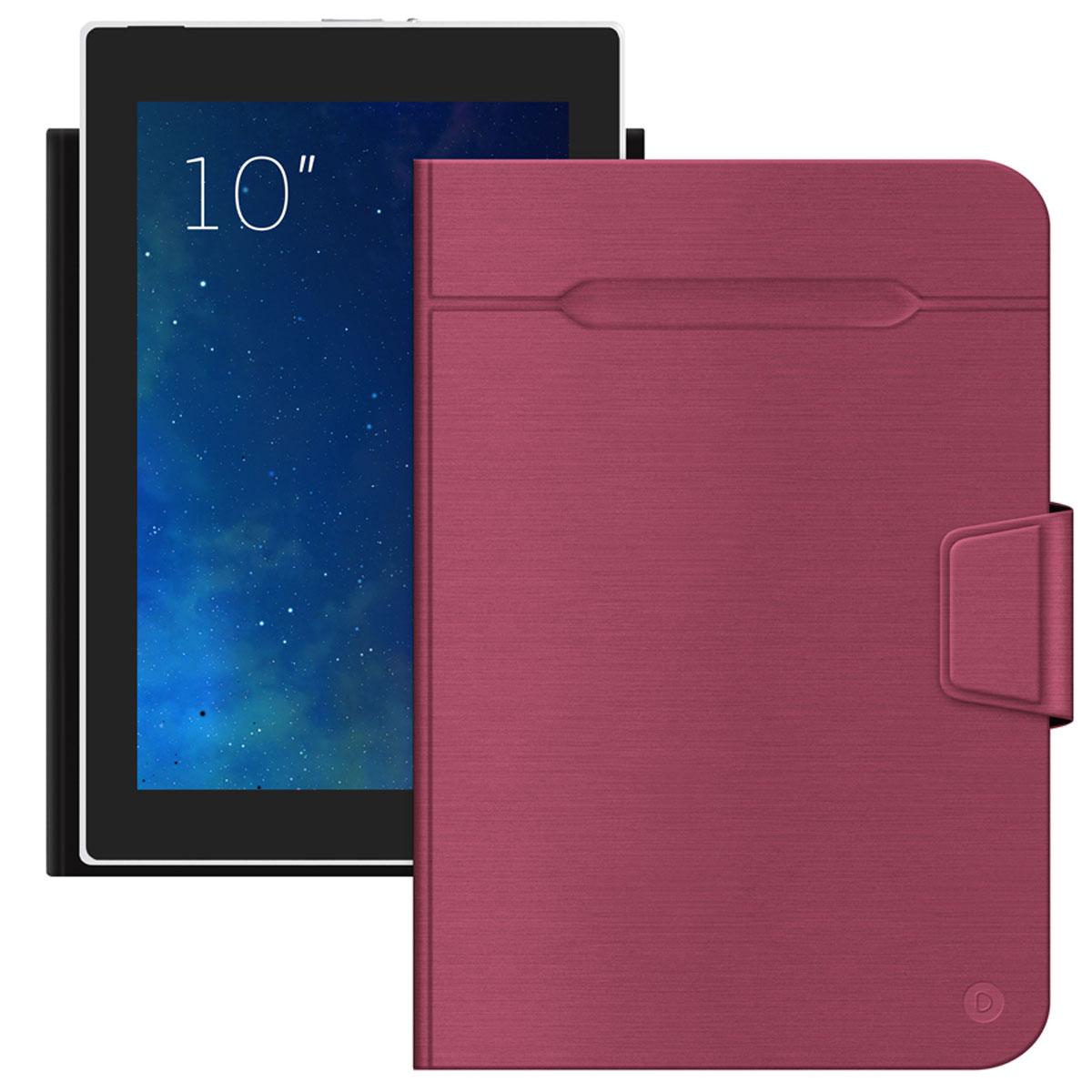 Deppa Wallet Fold �����-��������� ��� ��������� 10'', Red