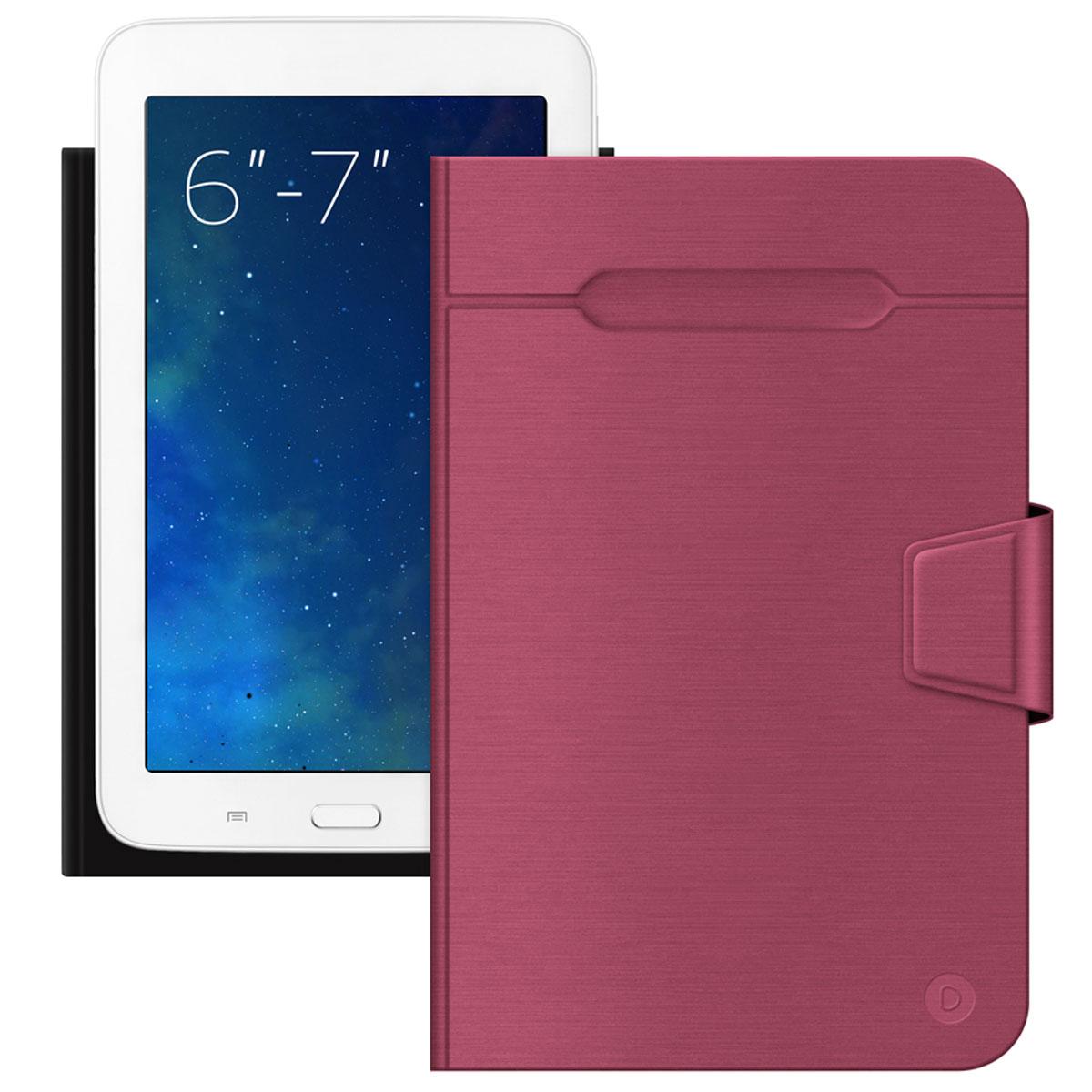 Deppa Wallet Fold чехол-подставка для планшетов и электронных книг 6''-7'', Red