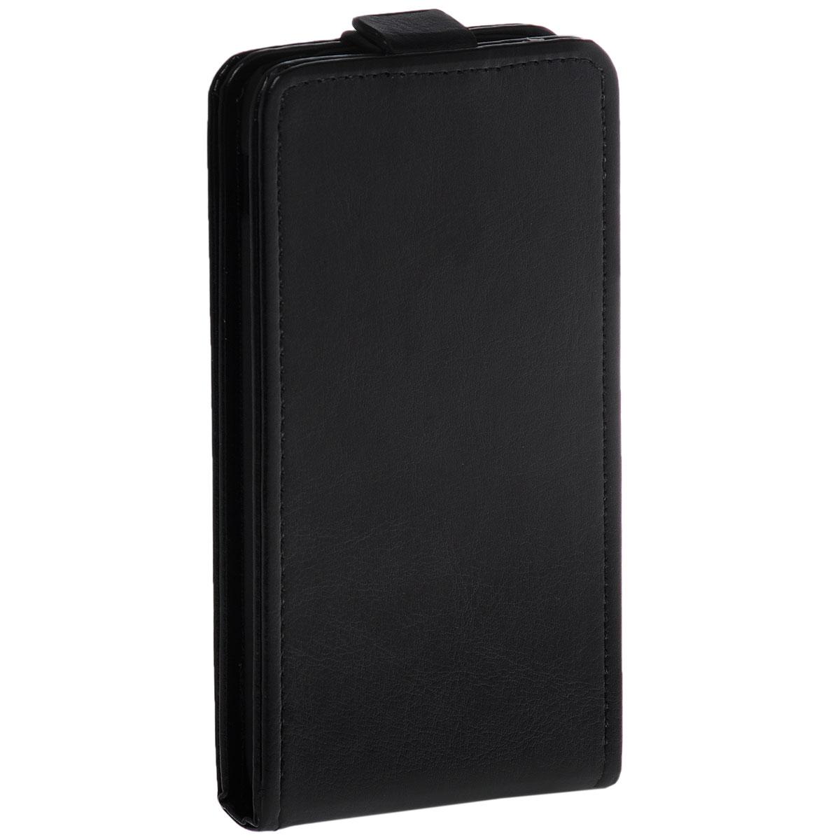 Skinbox Flip Case чехол для Alcatel Idol 3 5.5, BlackT-F-AI3Чехол Skinbox Flip Case для Alcatel Idol 3 выполнен из высококачественного поликарбоната и экокожи. Он обеспечивает надежную защиту корпуса и экрана смартфона и надолго сохраняет его привлекательный внешний вид. Чехол также обеспечивает свободный доступ ко всем разъемам и клавишам устройства.