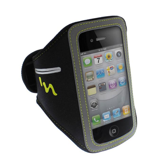 TNB IPHSP5 чехол на руку для iPhone 5, Black YellowIPHSP5TNB IPHSP5 - спортивный водостойкий чехол на руку для iPhone 5. С его помощью вам будет удобно использовать ваш девайс во время активных занятий спортом.