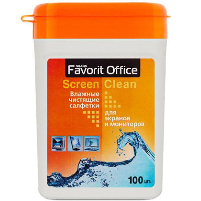 Favorit Office влажные салфетки для экранов TFT, 100 шт