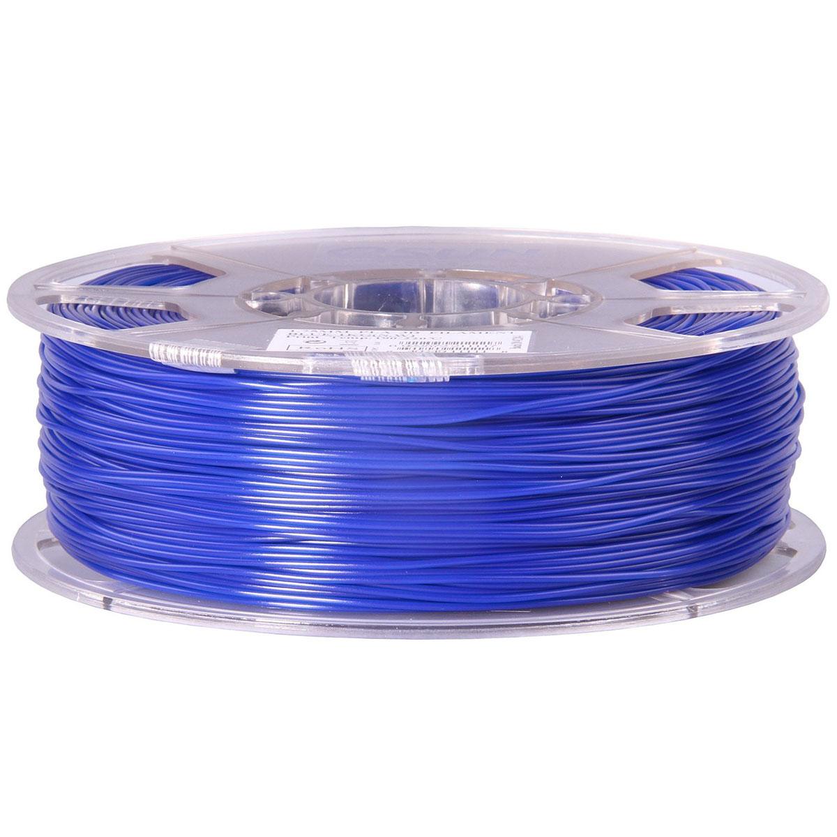 ESUN пластик PLA в катушке, Blue, 1,75 ммPLA175U1Пластик PLA от ESUN долговечный и очень прочный полимер, ударопрочный, эластичный и стойкий к моющим средствам и щелочам. Один из лучших материалов для печати на 3D принтере. Пластик не имеет запаха и не является токсичным. Температура плавления 190-220°C. PLA пластик для 3D-принтера применяется в деталях автомобилей, канцелярских изделиях, корпусах бытовой техники, мебели, сантехники, а также в производстве игрушек, сувениров, спортивного инвентаря, деталей оружия, медицинского оборудования и прочего. Диаметр нити: 1.75 мм