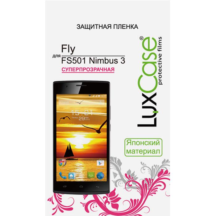 Luxcase защитная пленка для Fly FS501 Nimbus 3, суперпрозрачная