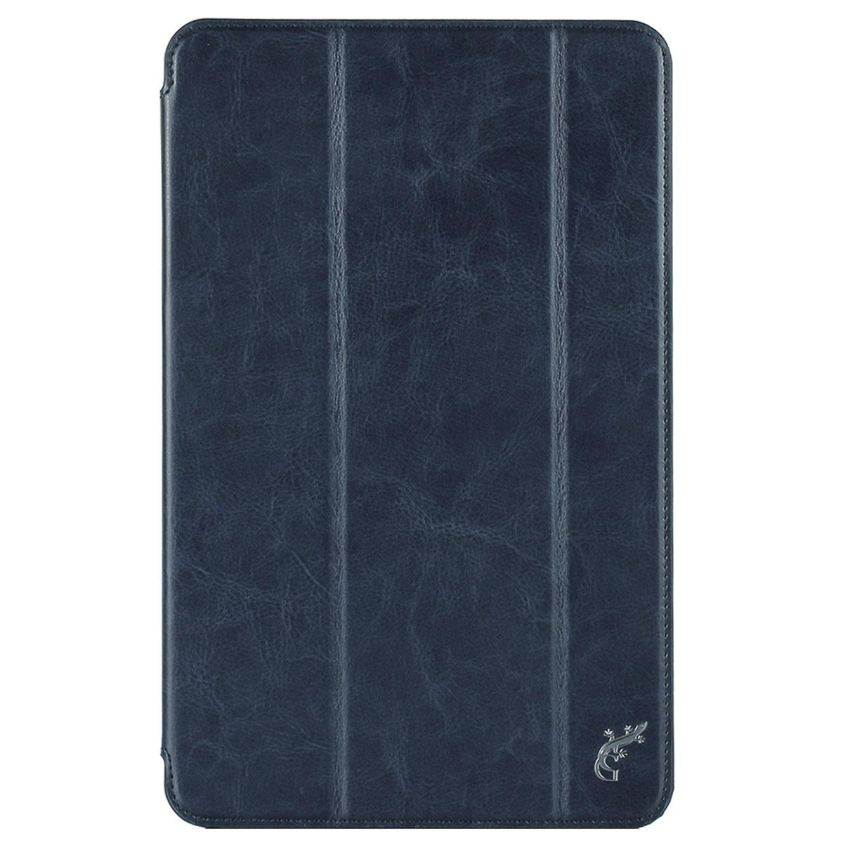 G-Case Slim Premium чехол для Samsung Galaxy Tab Е 9.6, Dark BlueGG-622Защитный чехол G-Case Slim Premium для планшета Samsung Galaxy Tab Е 9.6 отличается высокой степенью защиты от попадания влаги и пыли, а также падений и механических ударов. Среди конструктивных особенностей защитного чехла G-case можно отметить наличие двухпозиционной подставки, благодаря которой устройство можно установить в нескольких положениях для удобства пользования.