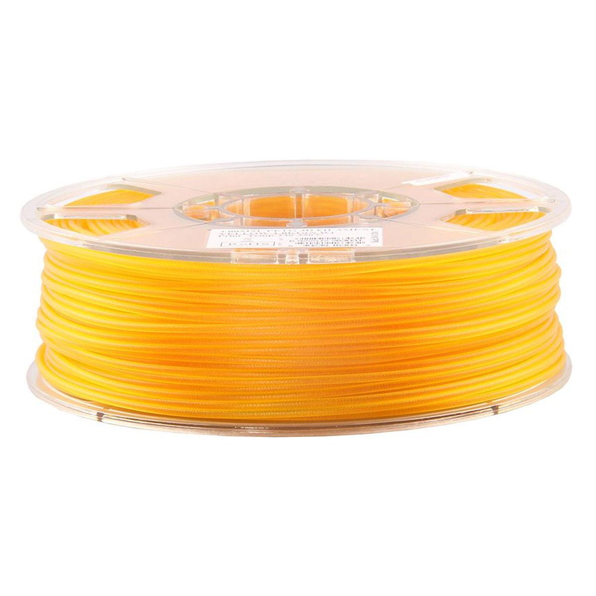 ESUN пластик PLA в катушке, Yellow, 1,75 ммPLA175Y1Пластик PLA от ESUN долговечный и очень прочный полимер, ударопрочный, эластичный и стойкий к моющим средствам и щелочам. Один из лучших материалов для печати на 3D принтере. Пластик не имеет запаха и не является токсичным. Температура плавления 190-220°C. PLA пластик для 3D-принтера применяется в деталях автомобилей, канцелярских изделиях, корпусах бытовой техники, мебели, сантехники, а также в производстве игрушек, сувениров, спортивного инвентаря, деталей оружия, медицинского оборудования и прочего. Диаметр нити: 1.75 мм