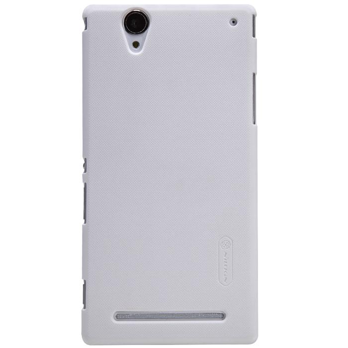 Nillkin Super Frosted Shield чехол для Sony Xperia T2 Ultra, WhiteT-N-ST2-002Накладка Nillkin Super Frosted Shield для Sony Xperia T2 Ultra разработана специально для данной модели телефона и обеспечивает доступ ко всем кнопкам и портам. Задняя сторона изготовлена из шершавого пластика, поэтому смартфон не будет выскальзывать из ваших рук. Чехол надежно защитит устройство от царапин и повреждений, позволяя использовать весь функционал в полной мере.