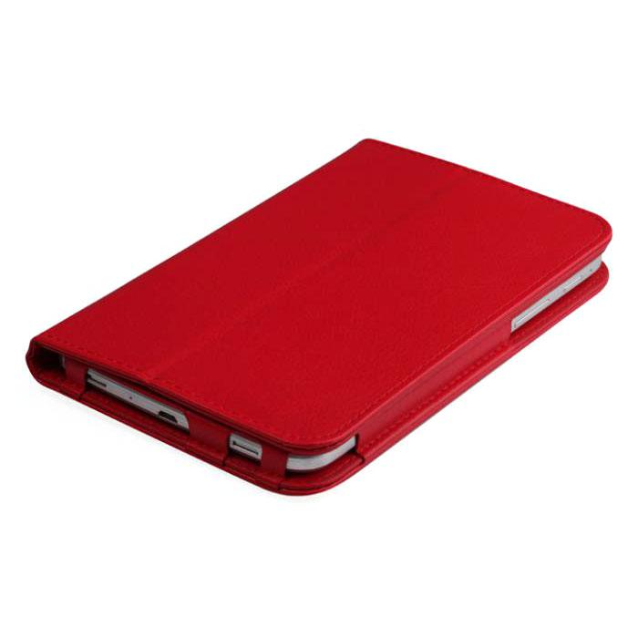 IT Baggage чехол для планшета Huawei Media Pad T1 7, RedITHWT1702-3IT Baggage для Huawei Media Pad T1 7 - удобный и надежный чехол, который надежно защищает ваше устройство от внешних воздействий, грязи, пыли, брызг. Также чехол поможет при ударах и падениях, смягчая их, и не позволяя образовываться на корпусе царапинам, потертостям. Кроме того, он будет незаменим при длительной транспортировке устройства.