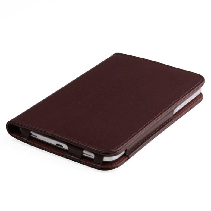 IT Baggage чехол для планшета Huawei Media Pad T1 7, BrownITHWT1702-2IT Baggage для Huawei Media Pad T1 7 - удобный и надежный чехол, который надежно защищает ваше устройство от внешних воздействий, грязи, пыли, брызг. Также чехол поможет при ударах и падениях, смягчая их, и не позволяя образовываться на корпусе царапинам, потертостям. Кроме того, он будет незаменим при длительной транспортировке устройства.