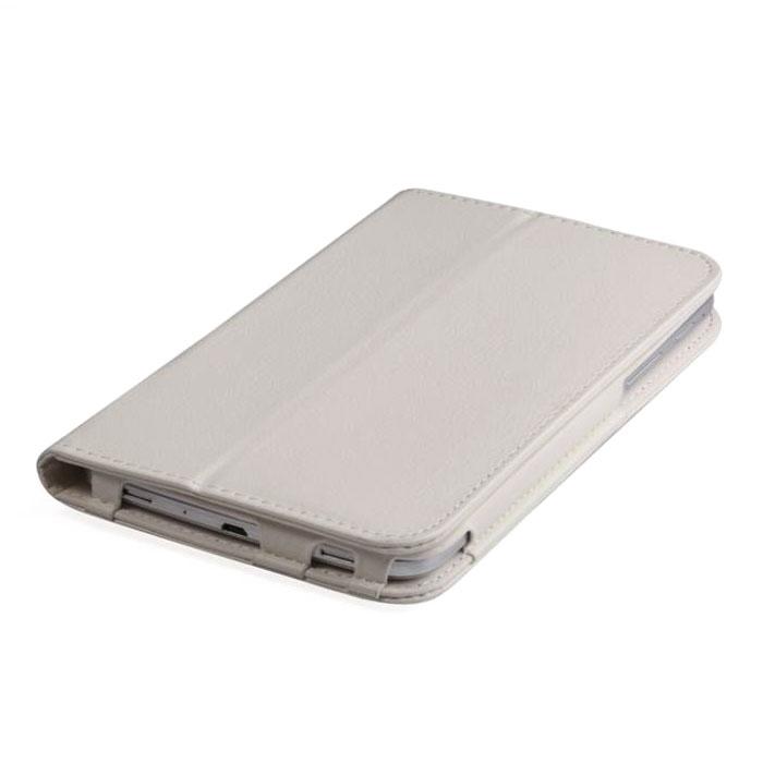 IT Baggage чехол для планшета Huawei Media Pad T1 7, WhiteITHWT1702-0IT Baggage для Huawei Media Pad T1 7 - удобный и надежный чехол, который надежно защищает ваше устройство от внешних воздействий, грязи, пыли, брызг. Также чехол поможет при ударах и падениях, смягчая их, и не позволяя образовываться на корпусе царапинам, потертостям. Кроме того, он будет незаменим при длительной транспортировке устройства.