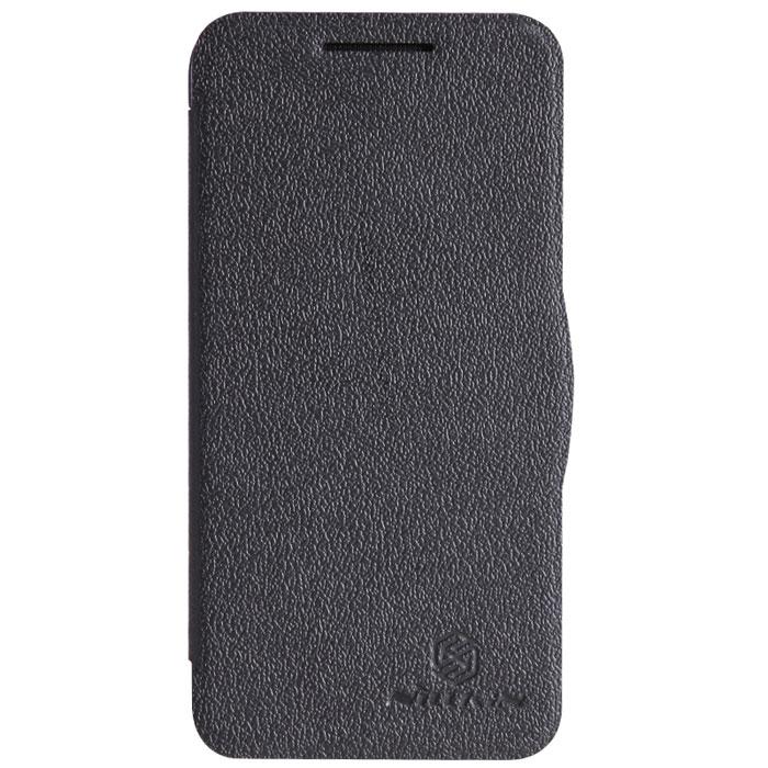 Nillkin Fresh Series Leather Case чехол для HTC Desire 300, BlackT-N-HD300-001Чехол Nillkin Fresh Series Leather Case сделан из высококачественного поликарбоната и экокожи. Он надежно фиксирует и защищает смартфон при падении. Обеспечивает свободный доступ ко всем разъемам и элементам управления.