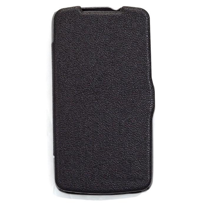 Nillkin Fresh Series Leather Case чехол для HTC Desire 500, BlackT-N-H500-001Чехол Nillkin Fresh Series Leather Case сделан из высококачественного поликарбоната и экокожи. Он надежно фиксирует и защищает смартфон при падении. Обеспечивает свободный доступ ко всем разъемам и элементам управления.