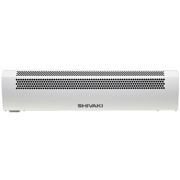 Shivaki SHIF-EAC50W воздушно-тепловая завесаSHIF-EAC50WВоздушно-тепловая завеса SHIVAKI SHIF-EAC50W предназначена для создания направленного воздушного потока, препятствующего проникновению внутрь помещения холодного наружного воздуха и снижения тепловых потерь в помещении, а также в качестве дополнительного источника тепла. При отключенных электронагревателях завеса может быть использована в летнее время для защиты кондиционируемого помещения от проникновения внутрь теплого наружного воздуха, пыли, дыма, насекомых и т.п. Специальные направляющие сопла формируют плотный воздушный поток с малой турбулентностью, надежно перекрывающий проем. Надежный вентиляционный узел с двигателем повышенной мощности и дополнительным охлаждением двигателя. Завеса предназначена для эксплуатации в районах с умеренным и холодным климатом, в помещениях с температурой окружающего воздуха от -10°С до +40°С и относительной влажности воздуха не более 80% (при температуре +25°С) в условиях, исключающих попадание на нее капель и брызг, а...
