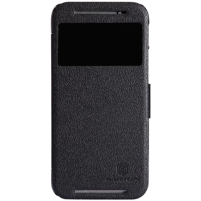 Nillkin Fresh Series Leather Case чехол для HTC One (M8), BlackT-N-HOM8-001Чехол Nillkin Fresh Series Leather Case сделан из высококачественного поликарбоната и экокожи. Он надежно фиксирует и защищает смартфон при падении. Обеспечивает свободный доступ ко всем разъемам и элементам управления.
