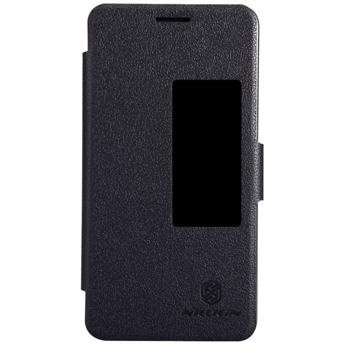 Nillkin Fresh Series Leather Case чехол для Huawei Honor 6, BlackT-N-HH6-001Чехол Nillkin Fresh Series Leather Case сделан из высококачественного поликарбоната и экокожи. Он надежно фиксирует и защищает смартфон при падении. Обеспечивает свободный доступ ко всем разъемам и элементам управления.
