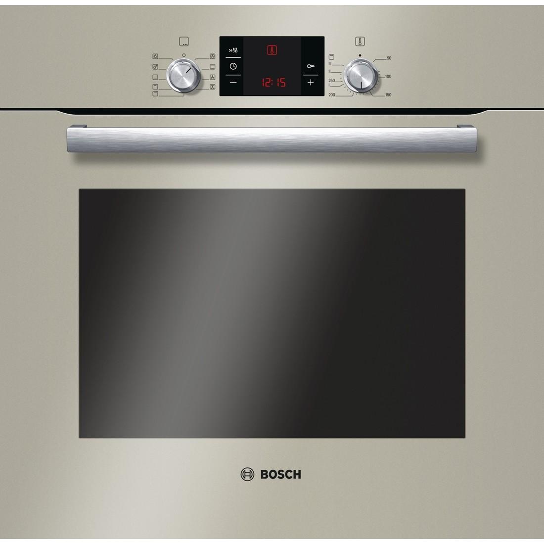 Bosch HBG33B530 духовка встраиваемаяHBG33B530Духовой шкаф Bosch HBN211E4 облегчит вам процесс приготовления благодаря уникальной системе нагрева Multifunktion. Объем шкафа – 67 л позволит приготовить большой объем блюд, сэкономив ваше время и силы. Наличие 4 режимов нагрева позволит вам приготовить курочку гриль, разморозить продукты или приготовить любую выпечку. Благодаря режиму «Горячий воздух» вы сможете приготовить два блюда одновременно благодаря равномерному распределению воздуха в духовом шкафу. Данная модель оснащена механическим таймером, который сообщит вам о готовности блюда, а наличие освещения облегчит процесс приготовления. Духовой шкаф Bosch HBN211E4 поможет вам готовить изысканные блюда для всей семьи.