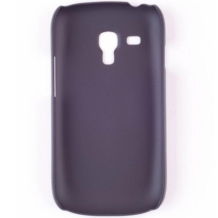 Nillkin Super Frosted Shield чехол для Samsung Galaxy SIII mini, BlackT-N-S3mini-001Чехол Nillkin Super Frosted Shield для Samsung Galaxy SIII mini изготовлен из экологически чистого поликарбоната путем высокотемпературной высокоточной формовки. Обе стороны чехла выполнены в соответствии с самой современной технологией изготовления матовых материалов, устойчивых к оседанию пыли, и покрыты краской, светящейся под воздействием ультрафиолета. Элегантный дизайн, чехол приятен на ощупь. Жесткость чехла предотвращает телефон от повреждений во время транспортировки. Размер чехла точно соответствует размеру телефона с четким соответствием всех функциональных отверстий. Вы можете использовать чехол, как вам будет удобно. Он изготовлен из цельной пластины методом загиба, износостойкий, устойчив к оседанию пыли, не скользит, устойчив к образованию отпечатков, легко чистится. Супертонкий Не скользит в руках
