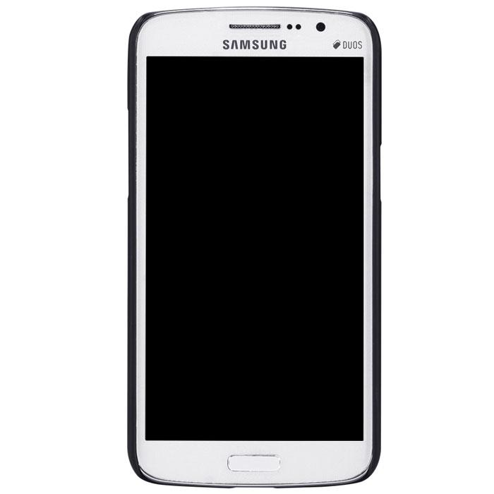 Nillkin Super Frosted Shield чехол для Samsung Galaxy Grand 2, BlackT-N-SG7106-002Чехол Nillkin Super Frosted Shield для Samsung Galaxy Grand 2 изготовлен из экологически чистого поликарбоната путем высокотемпературной высокоточной формовки. Обе стороны чехла выполнены в соответствии с самой современной технологией изготовления матовых материалов, устойчивых к оседанию пыли, и покрыты краской, светящейся под воздействием ультрафиолета. Элегантный дизайн, чехол приятен на ощупь. Жесткость чехла предотвращает телефон от повреждений во время транспортировки. Размер чехла точно соответствует размеру телефона с четким соответствием всех функциональных отверстий. Вы можете использовать чехол, как вам будет удобно. Он изготовлен из цельной пластины методом загиба, износостойкий, устойчив к оседанию пыли, не скользит, устойчив к образованию отпечатков, легко чистится. Супертонкий Не скользит в руках