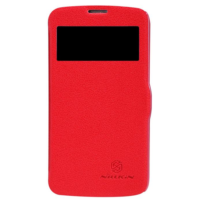 Nillkin Fresh Series Leather Case чехол для Samsung Galaxy S4 Active, RedT-N-SI9295-001Чехол Nillkin Fresh Series Leather Case сделан из высококачественного поликарбоната и экокожи. Он надежно фиксирует и защищает смартфон при падении. Обеспечивает свободный доступ ко всем разъемам и элементам управления. Уникальный дизайн чехла с окном для экрана, в котором отображаются все важные иконки. Нет необходимости открывать чехол для того, чтобы установить время, выбрать музыку, сделать фото, ответить на звонок или прочитать сообщение.