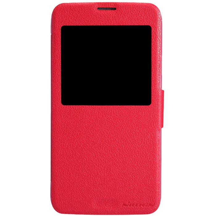Nillkin Fresh Series Leather Case чехол для Samsung Galaxy S5, RedT-N-SG900-001Чехол Nillkin Fresh Series Leather Case сделан из высококачественного поликарбоната и экокожи. Он надежно фиксирует и защищает смартфон при падении. Обеспечивает свободный доступ ко всем разъемам и элементам управления. Уникальный дизайн чехла с окном для экрана, в котором отображаются все важные иконки. Нет необходимости открывать чехол для того, чтобы установить время, выбрать музыку, сделать фото, ответить на звонок или прочитать сообщение.