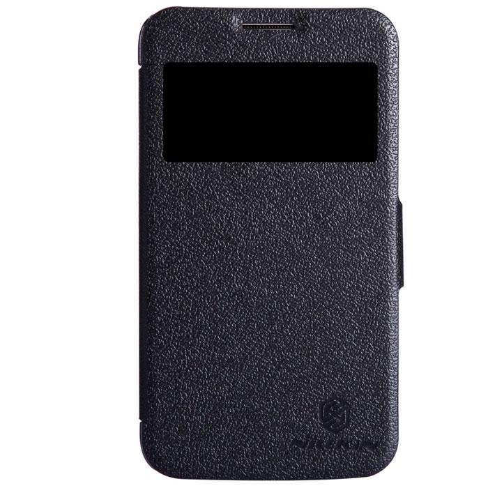 Nillkin Fresh Series Leather Case чехол для Samsung I8580, BlackT-N-SI8580-001Чехол Nillkin Fresh Series Leather Case сделан из высококачественного поликарбоната и экокожи. Он надежно фиксирует и защищает смартфон при падении. Обеспечивает свободный доступ ко всем разъемам и элементам управления. Уникальный дизайн чехла с окном для экрана, в котором отображаются все важные иконки. Нет необходимости открывать чехол для того, чтобы установить время, выбрать музыку, сделать фото, ответить на звонок или прочитать сообщение.