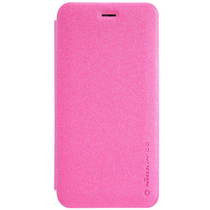 Nillkin Sparkle Leather Case чехол для Apple iPhone 6 Plus, PinkT-N-AiPhone6P-009Чехол Nillkin Sparkle Leather Case для Apple iPhone 6 Plus выполнен из высококачественного поликарбоната и искусственной кожи. Он надежно фиксирует и защищает смартфон при падении. Обеспечивает свободный доступ ко всем разъемам и элементам управления.
