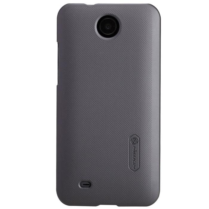 Nillkin Super Frosted Shield чехол для HTC Desire 300, Dark GreyT-N-HD300-002Чехол Nillkin Super Frosted Shield для HTC Desire 300 изготовлен из экологически чистого поликарбоната путем высокотемпературной высокоточной формовки. Обе стороны чехла выполнены в соответствии с самой современной технологией изготовления матовых материалов, устойчивых к оседанию пыли, и покрыты краской, светящейся под воздействием ультрафиолета. Элегантный дизайн, чехол приятен на ощупь. Жесткость чехла предотвращает телефон от повреждений во время транспортировки. Размер чехла точно соответствует размеру телефона с четким соответствием всех функциональных отверстий. Вы можете использовать чехол, как вам будет удобно. Он изготовлен из цельной пластины методом загиба, износостойкий, устойчив к оседанию пыли, не скользит, устойчив к образованию отпечатков, легко чистится. Супертонкий Не скользит в руках