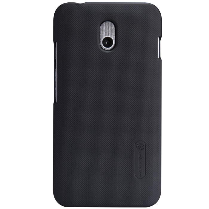 Nillkin Super Frosted Shield чехол для HTC Desire 210, BlackT-N-HD210-002Чехол Nillkin Super Frosted Shield для HTC Desire 210 изготовлен из экологически чистого поликарбоната путем высокотемпературной высокоточной формовки. Обе стороны чехла выполнены в соответствии с самой современной технологией изготовления матовых материалов, устойчивых к оседанию пыли, и покрыты краской, светящейся под воздействием ультрафиолета. Элегантный дизайн, чехол приятен на ощупь. Жесткость чехла предотвращает телефон от повреждений во время транспортировки. Размер чехла точно соответствует размеру телефона с четким соответствием всех функциональных отверстий. Вы можете использовать чехол, как вам будет удобно. Он изготовлен из цельной пластины методом загиба, износостойкий, устойчив к оседанию пыли, не скользит, устойчив к образованию отпечатков, легко чистится. Супертонкий Не скользит в руках