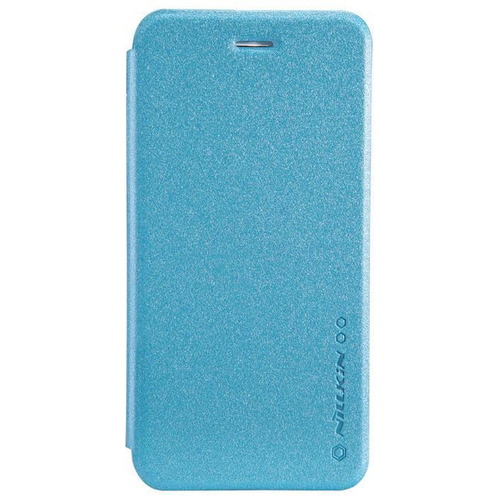 Nillkin Sparkle Leather Case чехол для Apple iPhone 6, BlueT-N-iPhone6-009Чехол Nillkin Sparkle Leather Case для Apple iPhone 6 выполнен из высококачественного поликарбоната и искуственной кожи. Он надежно фиксирует и защищает смартфон при падении. Обеспечивает свободный доступ ко всем разъемам и элементам управления.