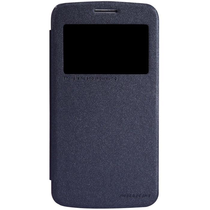 Nillkin Sparkle Leather Case чехол для Samsung Galaxy Grand 2, BlackT-N-SG7106-009Чехол Nillkin Sparkle Leather Case для Samsung Galaxy Grand 2 изготовлен из высококачественной искусственной кожи с перламутровым покрытием. Основа чехла состоит из поликарбоната. Благодаря чувствительному материалу, из которого выполнено функциональное окно, отсутствует необходимость открывать чехол для того, чтобы ответить на вызов, проверить время, воспользоваться камерой или любой другой функцией. Очень удобно и практично. Ультратонкий Водостойкий Противоскользящий Функциональность: умный сон, автопробуждение