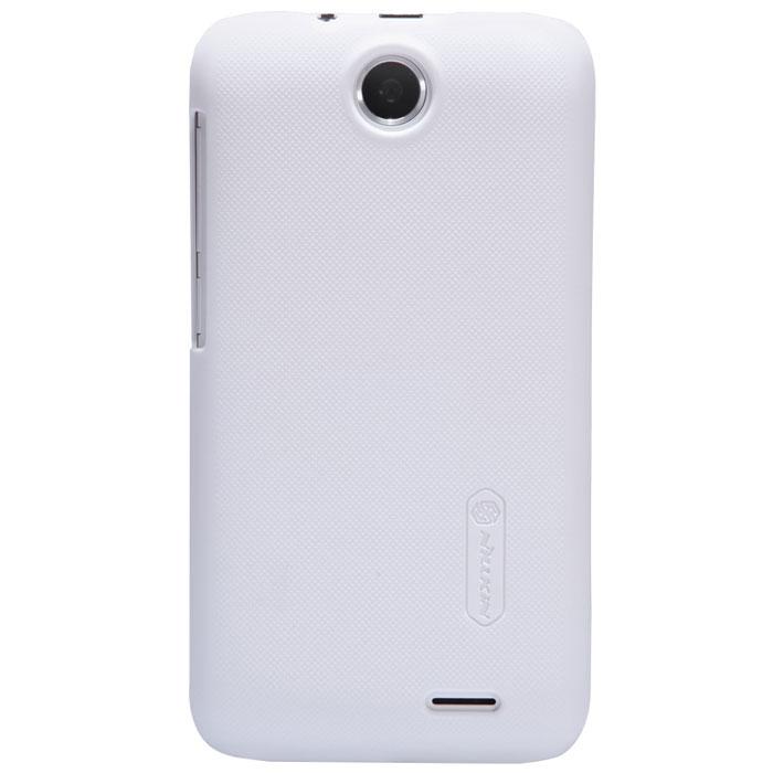 Nillkin Super Frosted Shield чехол для HTC Desire 310, WhiteT-N-HD310W-002Чехол Nillkin Super Frosted Shield для HTC Desire 310 изготовлен из экологически чистого поликарбоната путем высокотемпературной высокоточной формовки. Обе стороны чехла выполнены в соответствии с самой современной технологией изготовления матовых материалов, устойчивых к оседанию пыли, и покрыты краской, светящейся под воздействием ультрафиолета. Элегантный дизайн, чехол приятен на ощупь. Жесткость чехла предотвращает телефон от повреждений во время транспортировки. Размер чехла точно соответствует размеру телефона с четким соответствием всех функциональных отверстий. Вы можете использовать чехол, как вам будет удобно. Он изготовлен из цельной пластины методом загиба, износостойкий, устойчив к оседанию пыли, не скользит, устойчив к образованию отпечатков, легко чистится. Супертонкий Не скользит в руках
