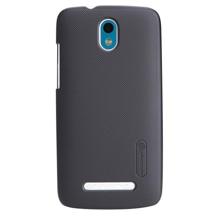 Nillkin Super Frosted Shield чехол для HTC Desire 500, BlackT-N-H500-002Чехол Nillkin Super Frosted Shield для HTC Desire 500 изготовлен из экологически чистого поликарбоната путем высокотемпературной высокоточной формовки. Обе стороны чехла выполнены в соответствии с самой современной технологией изготовления матовых материалов, устойчивых к оседанию пыли, и покрыты краской, светящейся под воздействием ультрафиолета. Элегантный дизайн, чехол приятен на ощупь. Жесткость чехла предотвращает телефон от повреждений во время транспортировки. Размер чехла точно соответствует размеру телефона с четким соответствием всех функциональных отверстий. Вы можете использовать чехол, как вам будет удобно. Он изготовлен из цельной пластины методом загиба, износостойкий, устойчив к оседанию пыли, не скользит, устойчив к образованию отпечатков, легко чистится.