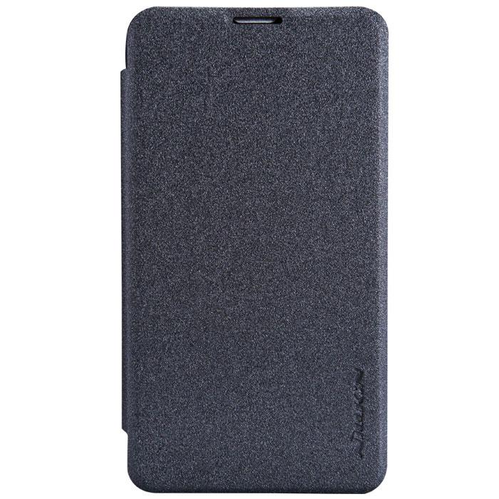 все цены на  Nillkin Sparkle Leather Case чехол для Nokia Lumia 530, Black  онлайн