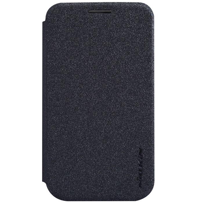 Nillkin Sparkle Leather Case чехол для LG L40 (D170), BlackT-N-LL40-009Чехол Nillkin Sparkle Leather Case для LG L40 (D170) изготовлен из высококачественной искусственной кожи с перламутровым покрытием. Основа чехла состоит из поликарбоната. Благодаря чувствительному материалу, из которого выполнено функциональное окно, отсутствует необходимость открывать чехол для того, чтобы ответить на вызов, проверить время, воспользоваться камерой или любой другой функцией. Очень удобно и практично. Ультратонкий Водостойкий Противоскользящий Функциональность: умный сон, автопробуждение