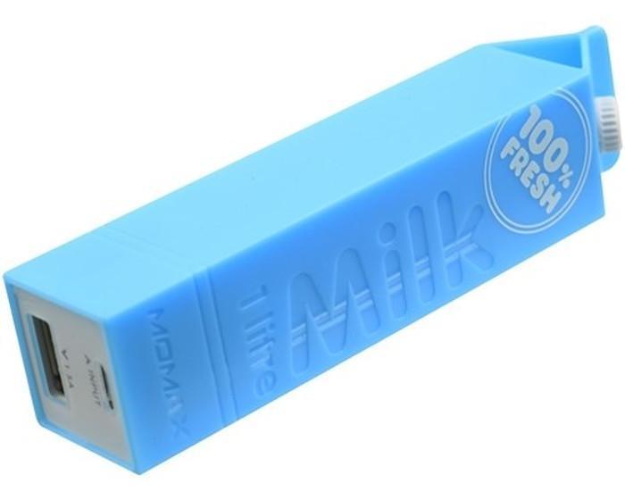 Untamo Unergy MilkBox, Blue портативный аккумулятор
