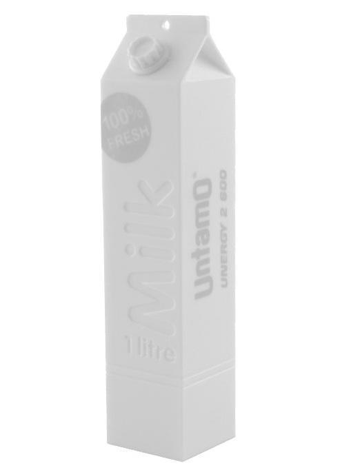 Untamo Unergy MilkBox, White портативный аккумулятор