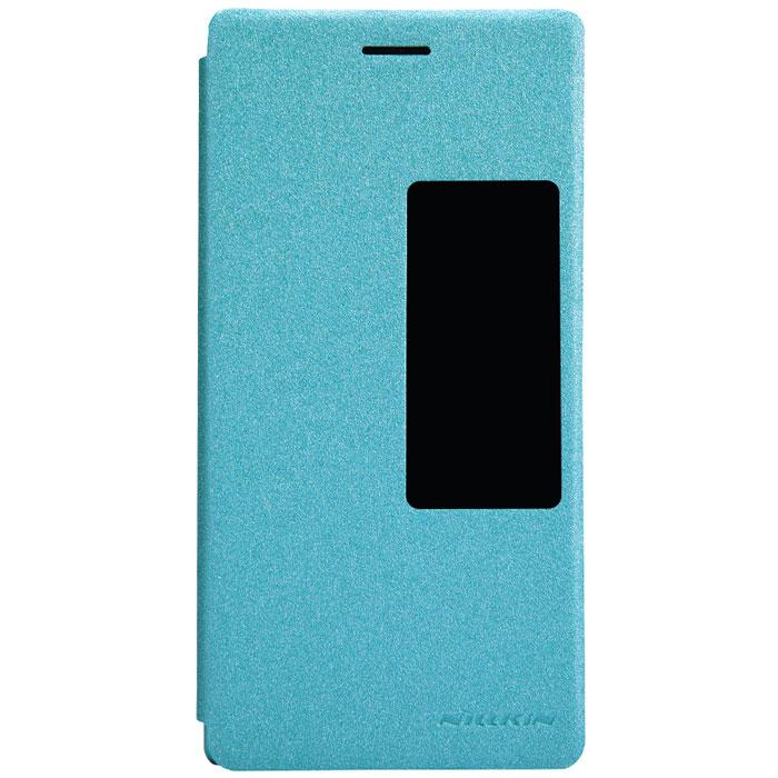 Nillkin Sparkle Leather Case чехол для Huawei Ascend P7, BlueT-N-HAP7-009Чехол Nillkin Sparkle Leather Case для Huawei Ascend P7 выполнен из высококачественного поликарбоната и искусственной кожи. Он надежно фиксирует и защищает смартфон при падении. Обеспечивает свободный доступ ко всем разъемам и элементам управления. Благодаря функциональному окну отсутствует необходимость открывать чехол для того, чтобы ответить на вызов, проверить время, воспользоваться камерой или любой другой функцией.