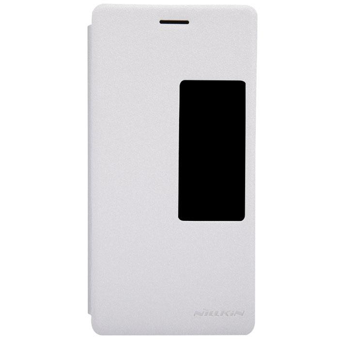 Nillkin Sparkle Leather Case чехол для Huawei Ascend P7, WhiteT-N-HAP7-009Чехол Nillkin Sparkle Leather Case для Huawei Ascend P7 выполнен из высококачественного поликарбоната и искусственной кожи. Он надежно фиксирует и защищает смартфон при падении. Обеспечивает свободный доступ ко всем разъемам и элементам управления. Благодаря функциональному окну отсутствует необходимость открывать чехол для того, чтобы ответить на вызов, проверить время, воспользоваться камерой или любой другой функцией.