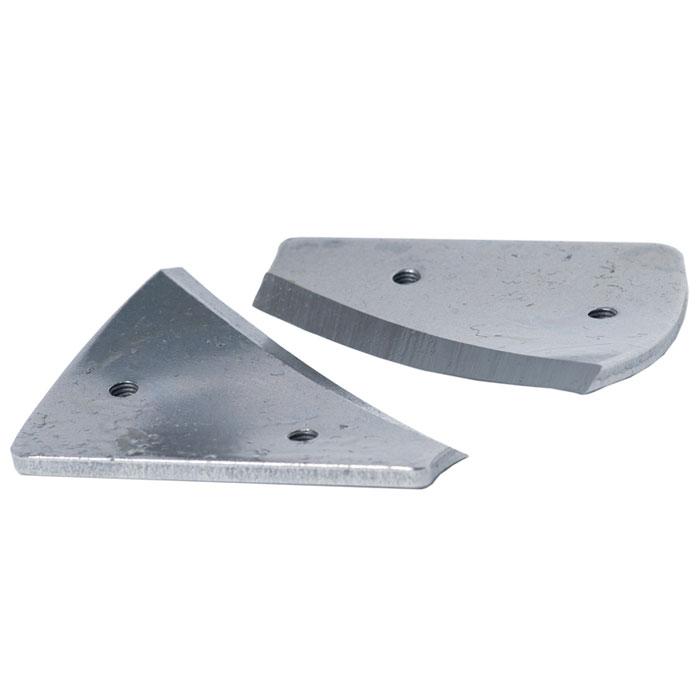 Съемные лезвия для шнека ADA Ice Blade 150А00279Съемные лезвия ADA Ice Blade 150 предназначены для бурения льда. Их используют для замены сломавшегося или затупившегося ножа на рабочем шнеке. Комплект таких ножей позволяет бурить отверстия во льду диаметром 150 мм и глубиной до 1 м.