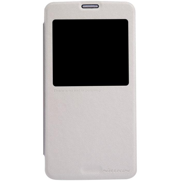 Nillkin Sparkle Leather Case чехол для Samsung Galaxy S5, WhiteT-N-SG900-011Чехол Nillkin Sparkle Leather Case для Samsung Galaxy S5 изготовлен из высококачественной искусственной кожи с перламутровым покрытием. Основа чехла состоит из поликарбоната. Благодаря чувствительному материалу, из которого выполнено функциональное окно, отсутствует необходимость открывать чехол для того, чтобы ответить на вызов, проверить время, воспользоваться камерой или любой другой функцией. Очень удобно и практично. Ультратонкий Водостойкий Противоскользящий Функциональность: умный сон, автопробуждение